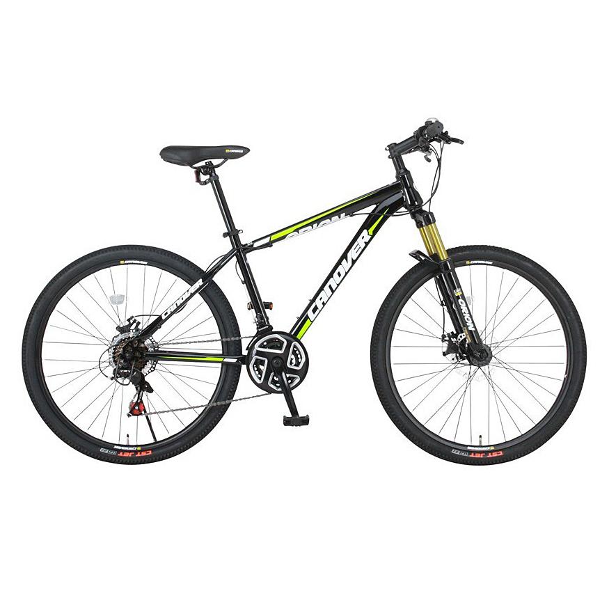 《エアロチューブデザインのミドルクラスマウンテンバイク》CANOVER 26 x 1.95 21段変速マウンテンバイクCAMT-042-DD ORIONフレームサイズ 410mm(33732)ブラック