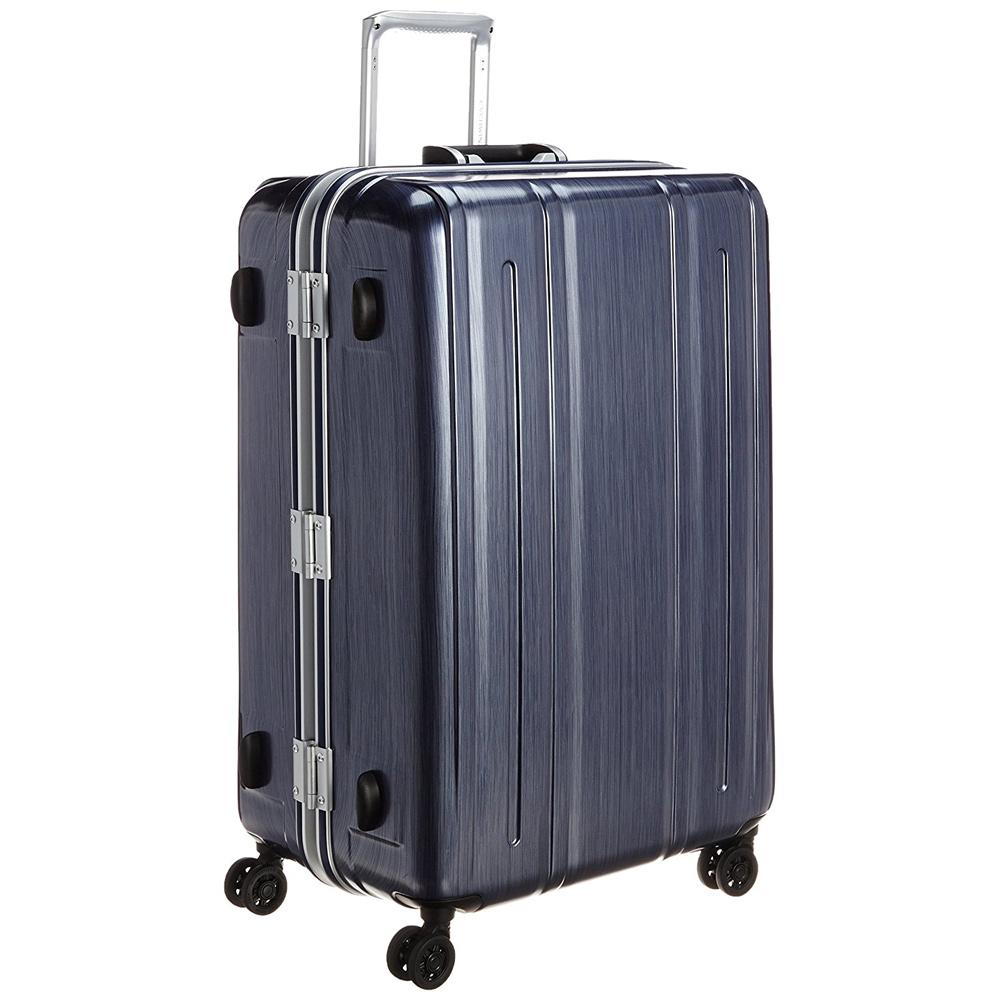 《機内預入無料受託サイズ対応・TSAロック搭載・軽量4.6kg》EVERWIN 軽量スーツケースEVERWIN BE LIGHT PREMIUM94L(31229)ネイビー