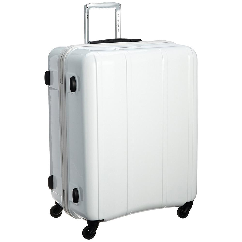 《機内預入無料受託サイズ対応・TSAロック搭載・容量100L》EVERWIN 軽量スーツケースEVERWIN BE MAX 100L(31228)ホワイト