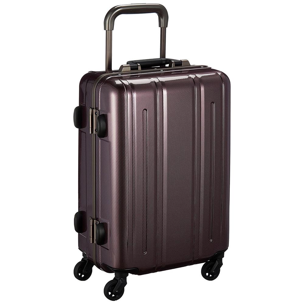 《レトロな雰囲気を加えた丈夫なハードスーツケース》EVERWIN 機内持込可スーツケースEVERWIN BE Narrow 30L(EW31237)パールカーボン