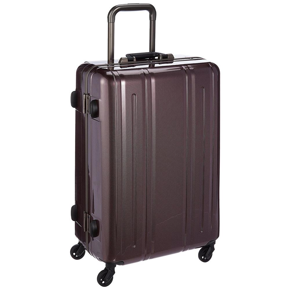 《レトロな雰囲気を加えた丈夫なハードスーツケース》EVERWIN 機内持込可スーツケースEVERWIN BE Narrow 60L(EW31238)パールカーボン