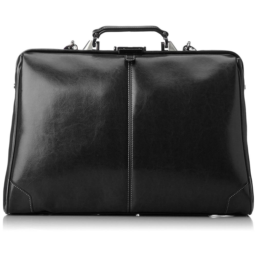 《国内旅行やビジネスシーンまで幅広い対応が可能》EVERWIN 3WAYダレスバッグL(21592)ブラック