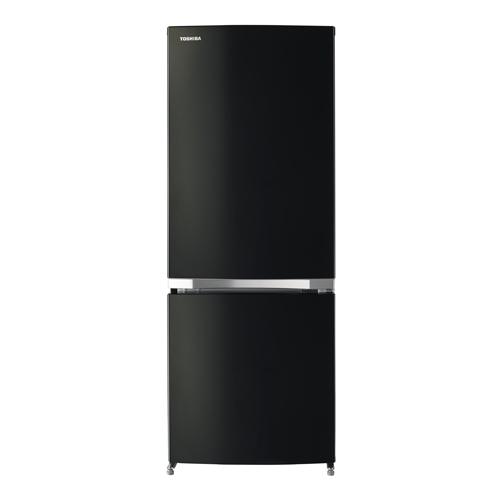 東芝 153L2ドア冷凍冷蔵庫GR-M15BS(K)ピュアブラック