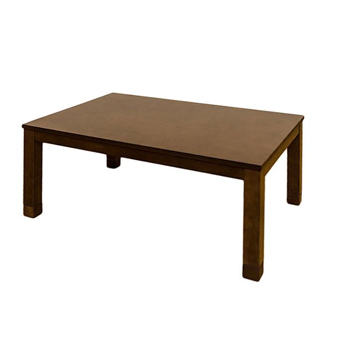 《座卓、ソファ、ダイニングチェアに合わせて使えるコタツ》サカベ 3段階継脚ダイニングコタツ600W石英管ヒーター90x60SCD-90TBRブラウン