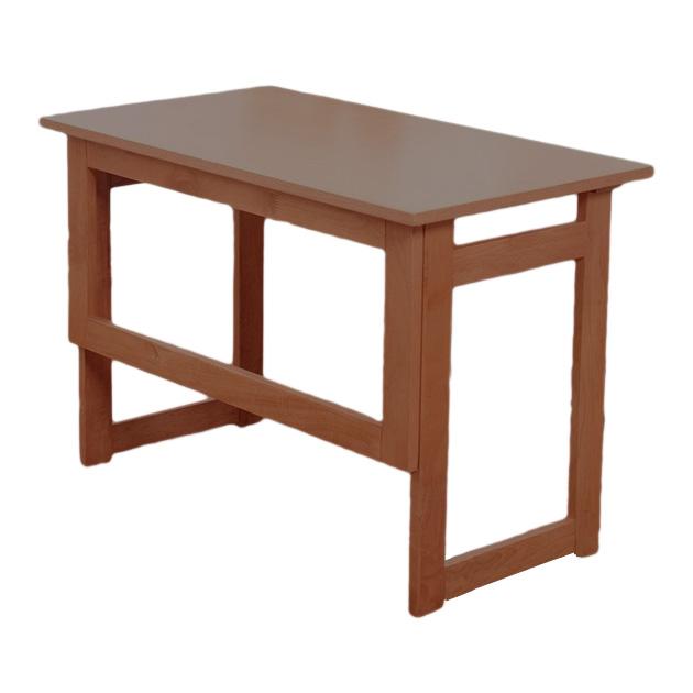 《折りたためるのでコンパクト。高さは55cm,69cmの2種》ファミリー・ライフ 天然木折りたたみサイドテーブル高さ55cm(0329910)ブラウン