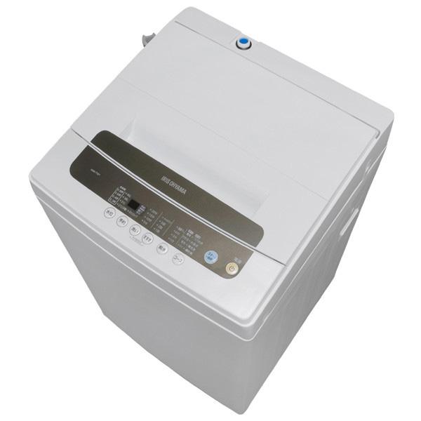 《脱水時間を長くすることで洗濯物の水分を飛ばす部屋干しモード搭載》アイリスオーヤマ 全自動縦型洗濯機IAW-T501洗濯・脱水5.0kgホワイト