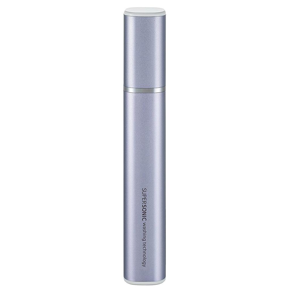《色んな汚れをスッキリ落とす部分洗いアイテム 》シャープ 超音波ウォッシャー携帯に便利なスリムタイプUW-S2-V