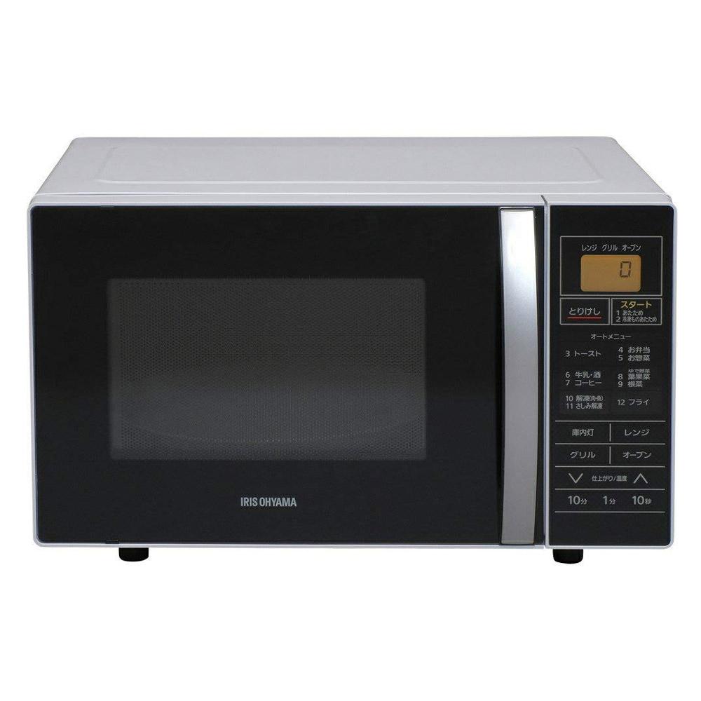 《12の自動メニューで忙しいときの調理もラクラク》アイリスオーヤマ 16LオーブンレンジMO-T1601ホワイト