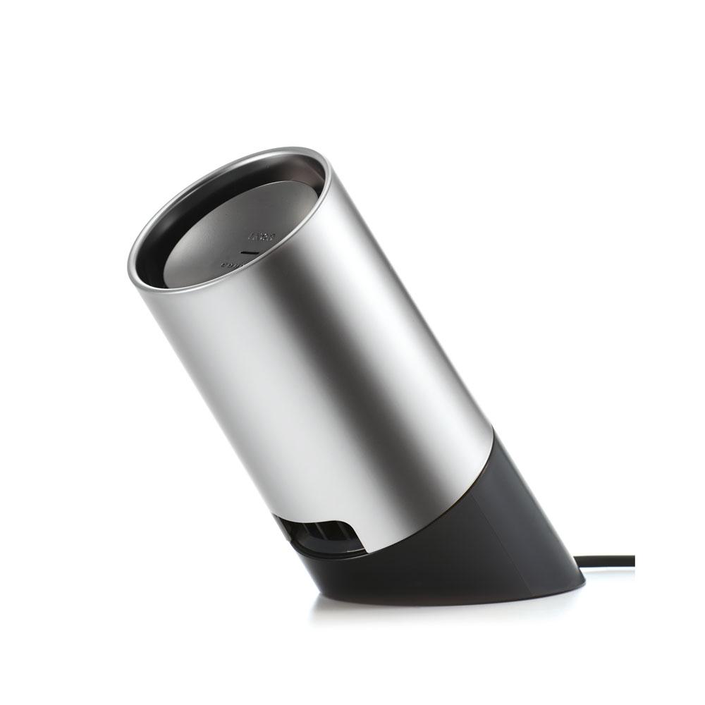 《空気中の嫌なニオイを分解し、アロマの香りでお部屋を満たします》IKOR 光触媒消臭機能搭載アロマディフューザーcoucaシルバー
