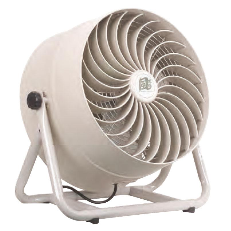 《施設園芸、栽培施設内の送風、工場内、エベント施設内の空気循環に》ナカトミ 羽根径35cm単相100V全閉式モーター採用循環送風機CV-3510