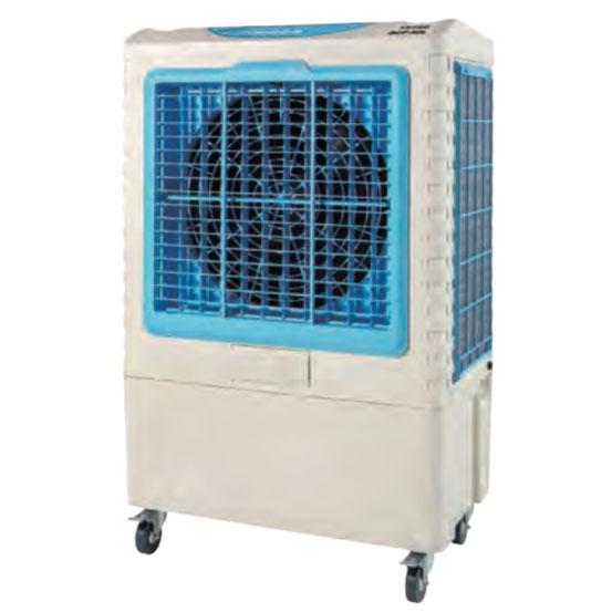 《水の気化熱を利用した大型冷風扇。オートスインク、かんたん給水》ナカトミ 単相100V大型冷風扇(40cm4枚樹脂羽根)BCF-40L(N)タンク容量50L