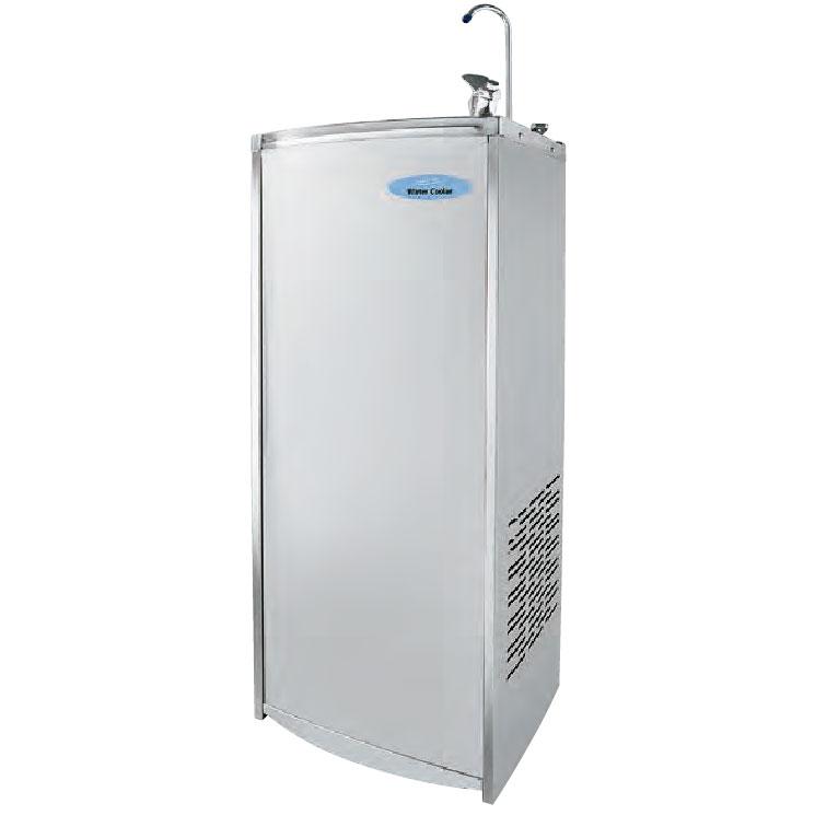 《現場や工場内の水分補給に。熱中症対策に。》ナカトミ 水道直結式冷水専用床置き型ウォータークーラーNWC-F30C