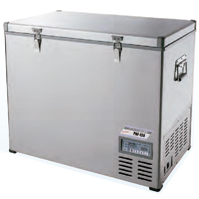 《DC/AC両電源対応。車載もOK》ナカトミ DC/AC電源対応車載可能ポータブル128L冷蔵冷凍庫PRF-128