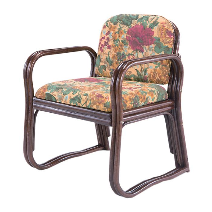 《軽くてゴージャス。普段使いが楽しくなる》ファミリー・ライフ 天然籐製座椅子(03632)ハイタイプ