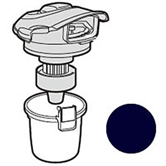 送料無料でメーカー純正パーツをお届けします シャープ 特価キャンペーン 掃除機用ダストカップセット 代引き不可 ブラック系 217 EC-T1E8-KB 0375 対応機種 137