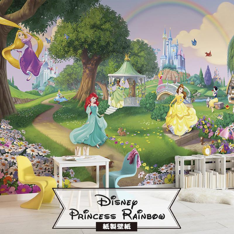 楽天市場ドイツ製インポート壁紙 8 449 Princess Rainbow即納可