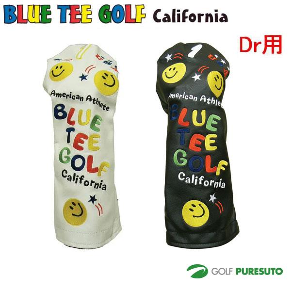 ブルーティーゴルフ カルフォルニア スマイルヘッドカバー 希少 即出荷 ドライバー用 California BLUE GOLF TEE