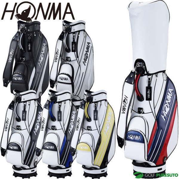 2020年モデル 信頼 HONMA ホンマゴルフ ネームプレート刻印無料 CB-12016 限定モデル キャディバッグ サイドライン入りスポーツタイプ CB12016 9型 本間ゴルフ