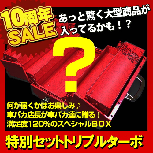 福袋 ウッドミッツ スーパー特別セット トリプルターボ 50000円BOX 福箱 送料無料 1000馬力 ウッドミッツ