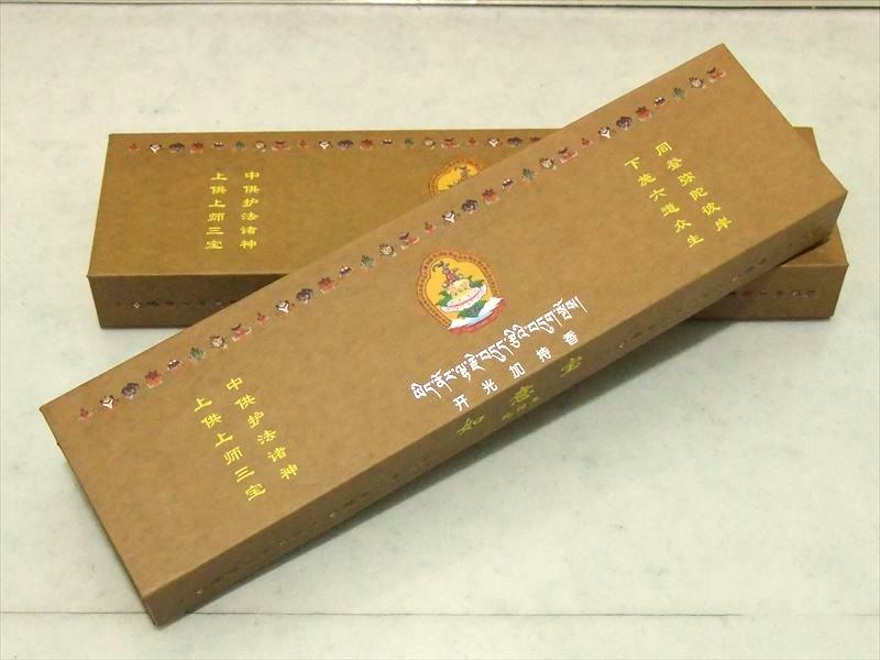 浄化用 スティック香 激安宣言 最高級 チベット族秘伝 如意宝 純檀王 贅沢に白檀を使用 たっぷり1箱120本入り 美品 茶箱 評判