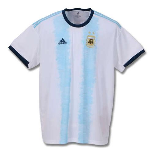 【大きいサイズ】【メンズ】adidas アルゼンチン代表ホームユニフォーム 8XO