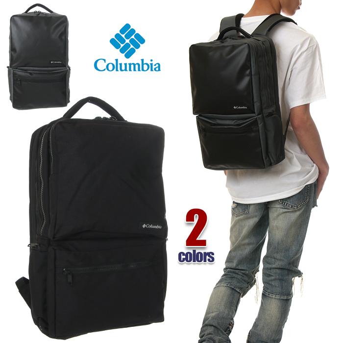 コロンビア リュック メンズ レディース COLUMBIA Star Range Square Backpack 2 22L スクエア リュックサック バックパック バッグ ボックス型 大容量 ビジネス 通勤 通学 おしゃれ きれいめ アウトドア ブランド 黒 ブラック カモ PU8198