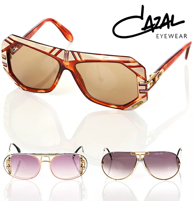 カザール サングラス メンズ レディース CAZAL デッドストック 眼鏡 メガネ カラーレンズ ヴィンテージ オールドスクール B系 ストリート系 ヒップホップ ダンス 衣装 ブランド ファッション
