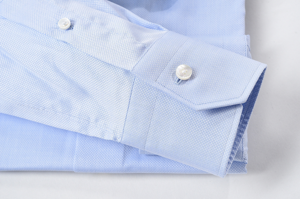 100% of Ermenegildo Zegna /Ermenegildo Zegna/ シャツオックス long sleeves / business cotton