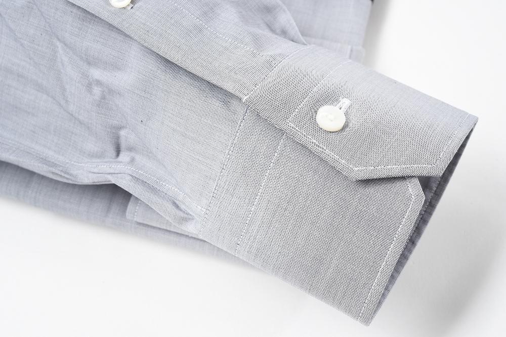 erumenejirudozenia/Ermenegildo Zegna/Trofeo Comfort/衬衫绒面呢长袖子/商务棉布100%