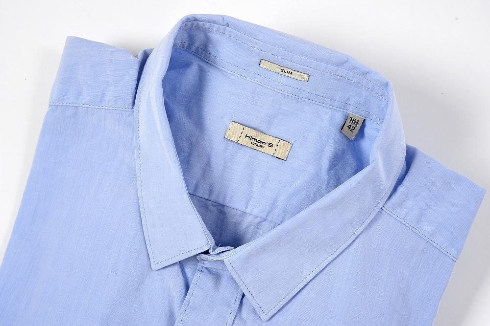 ヒモンズ Himon's 【送料無料】カジュアルシャツ レギュラーカラー SLIM 長袖 コットン100% メンズ ブランド【あす楽対応_関東】
