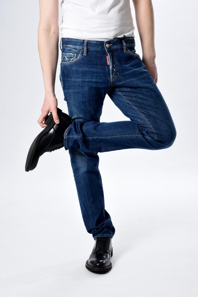 ディースクエアード DSQUARED2 【送料無料】SLIM JEAN デニムジーンズ ダメージ加工 メンズ ブランド イタリア【あす楽対応_関東】