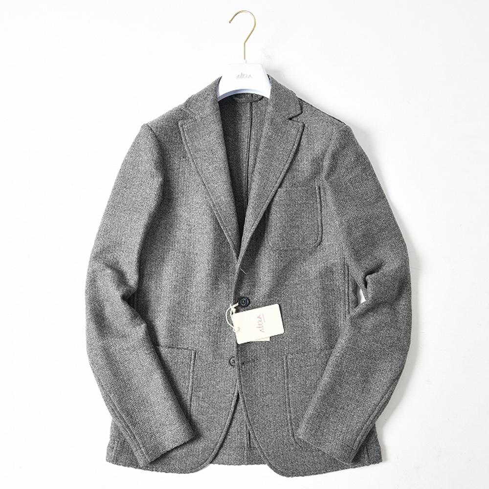 altea アルテア 【送料無料】ジャケット 織り シングル 2つ ボタン ウール 100% メンズ ブランド イタリア 【秋冬】【あす楽対応_関東】