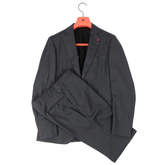 イザイア ISAIA 【送料無料】スーツ テーラード メンズ 3シーズン SUPER130'S ウール 100% M/イタリア ブランド サルトリア