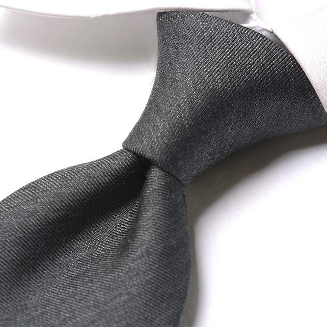 8d2ac187 Gargoyle gray / Italy brand constant seller 100% plain Ermenegildo Zegna  Ermenegildo Zegna tie men silk