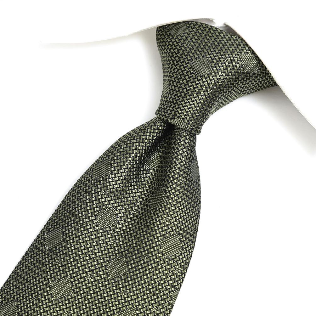 トムフォード TOM FORD ネクタイ ワイドタイ メンズ シルク 100% ドット グリーン イタリア ブランド MADE IN ITALY ビジネス ギフト