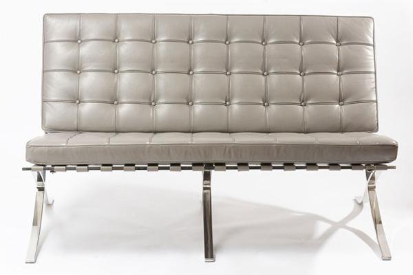 【送料無料】【即納可】Barcelona Sofa 2Sバルセロナ ソファー 2S【リプロダクト家具】【ジェネリック家具】【dl】s-specchio