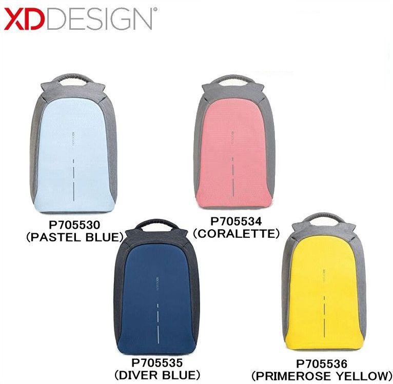 【送料無料】XD DESIGN/エックスディーデザイン Bobby Compact(ボビィーコンパクト)/【P705530】【P705534】【P705535】【P705536】【リュックサック】【充電用USBポート】【防犯】【防刃】【11リットル】