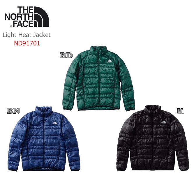 【2018 Fall&Winter】【送料無料】THE NORTH FACE/ノースフェイス Light Heat Jacket(ライトヒートジャケット)【メンズ】/ND91701【アウター】【ダウンジャケット】【インナーダウン】【ポケッタブル】【登山】【男性用】