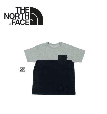 ノースフェイス S/S 2 Tone Pocket Tee(ショートスリーブツートーンポケットティー)/NT31835【Tシャツ】【半袖】【メンズ】【男性用】【全3カラー】
