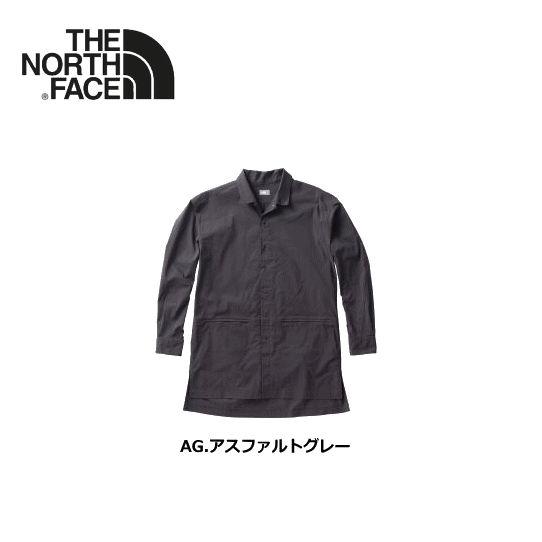 【送料無料】THE NORTH FACE/ノースフェイス Utility Shirt Coat(ユーティリティシャツコート)/NR11862【メンズ】【男性用】【長袖シャツ】【ロング丈】【全2カラー】
