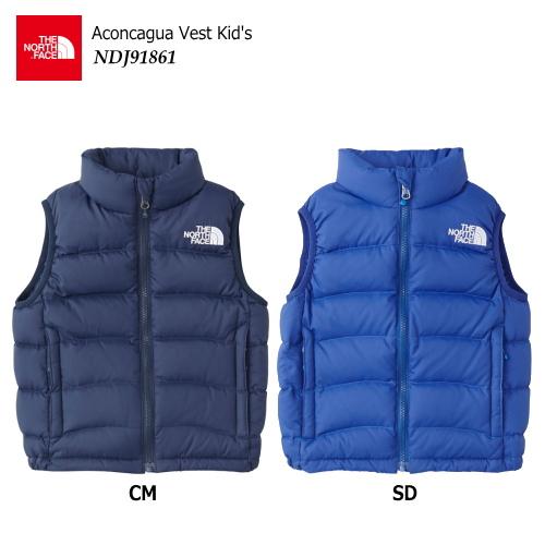 【2018 Fall&Winter】THE NORTH FACE/ノースフェイス Aconcagua Vest(アコンカグアベスト キッズ)/NDJ91861 【キッズダウンベスト】【子供防寒】