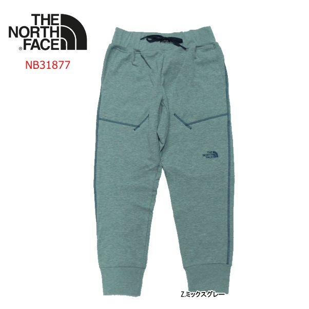ノースフェイス Dry Sweat Ankle Pant(ドライスウェットアンクルパンツ)/NB31877【メンズ】【スウェット】【ランニング用】