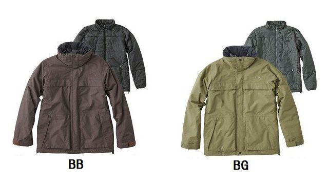 【送料無料】THE NORTH FACE/ノースフェイス Makalu Triclimate Jacket(マカルトリクライメートジャケット)【Men's】/NP61637【メンズ】【アウター】【中わた】【インナー取り外し】