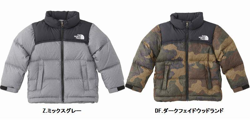 【2018-19 Fall & Winter】【送料無料】THE NORTH FACE/ノースフェイス Novelty Nuptse Jacket(ノベルティーヌプシジャケット)【Kids】/NDJ91864 【キッズダウンジャケット】【子供防寒】