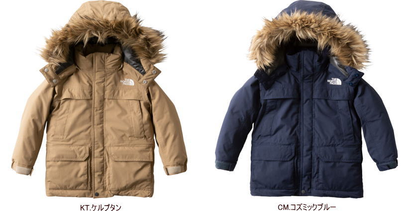 【2018-19 Fall&Winter】【送料無料】THE NORTH FACE/ノースフェイス McMurdo Parka(マクマードパーカー)【Kids】/NDJ91860【防寒】【子供用ダウンジャケット】【ファー付き】