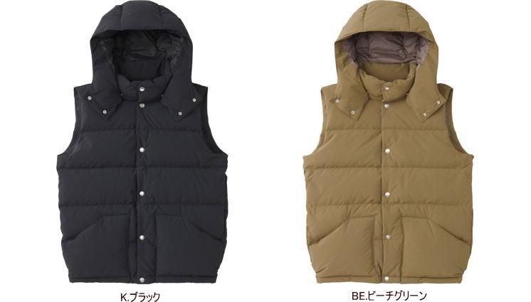 【2018-19 Fall&Winter】【送料無料】THE NORTH FACE/ノースフェイス CAMP Sierra Vest〔Men's〕(キャンプシエラベスト〔メンズ〕)/ND91848【アウター】【ダウンベスト】【男性用】