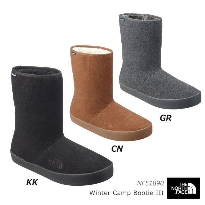 ノースフェイス NF51890 ウインターキャンプブーティー3 スノーブーツ/防寒ブーツ/スエードブーツ/ユニセックス
