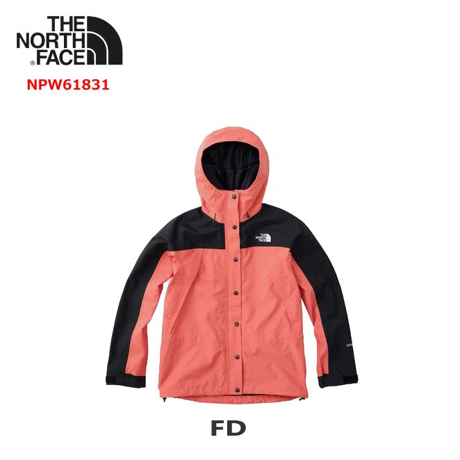ノースフェイス NPW61831 マウンテンライトジャケット[レディース] (FD)フェイデッドローズ 防水シェルジャケット トレッキング キャンプ 女性用