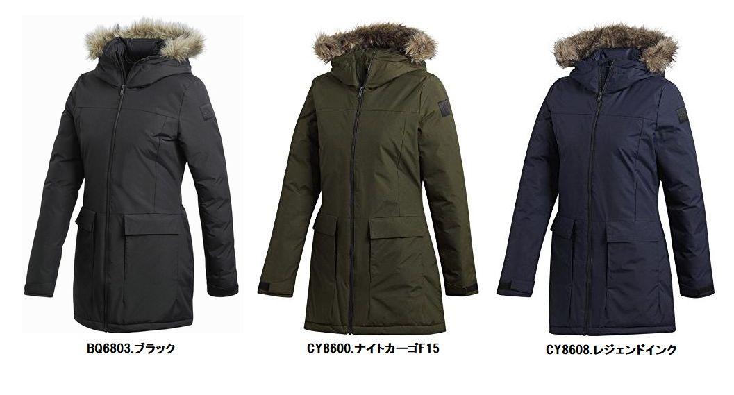 女性用防寒ジャケット アディダス MMR24 XPLORIC 爆安プライス レディース パーカ パデッド 日本全国 送料無料