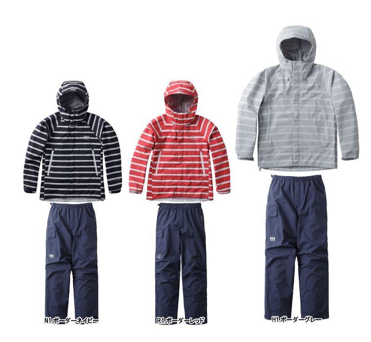 【2019 Spring&Summer】【送料無料】HELLY HANSEN/ヘリーハンセン Scandza Helly Rain Suit(スカンザヘリーレインスーツ)/HOE11700【女性用】【レインウェア】【上下セット】【アウトドア】【トレッキング】